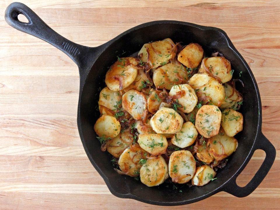 Schmaltz-Potatoes