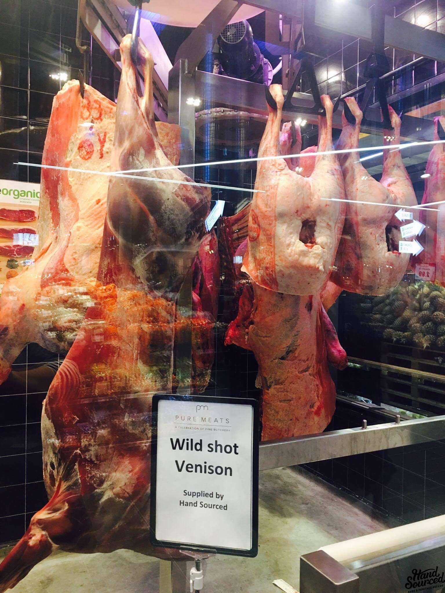 Wild Shot Venison Hand Sourced