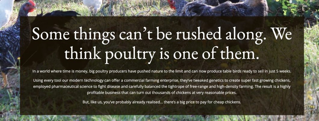 Grassland Poultry Hand Sourced